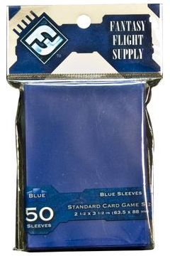 FFG Standard Card Game Sleeves - Blue (Niebieskie) 50